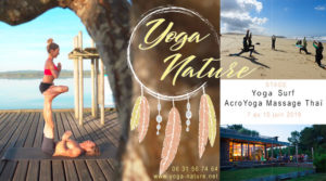 Stage Yoga Surf AcroYoga Massage Thaï