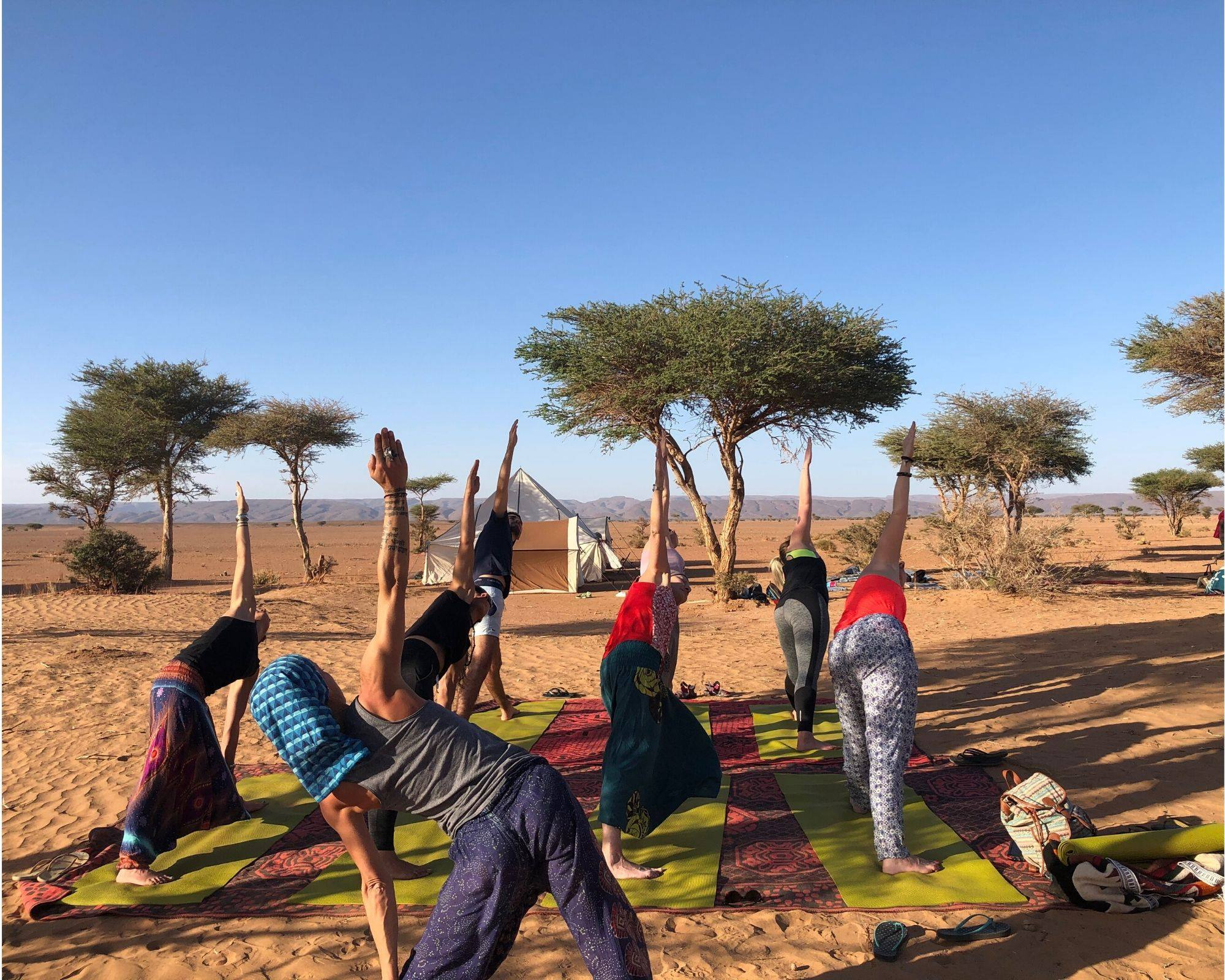 Yoga Nature retraite Maroc