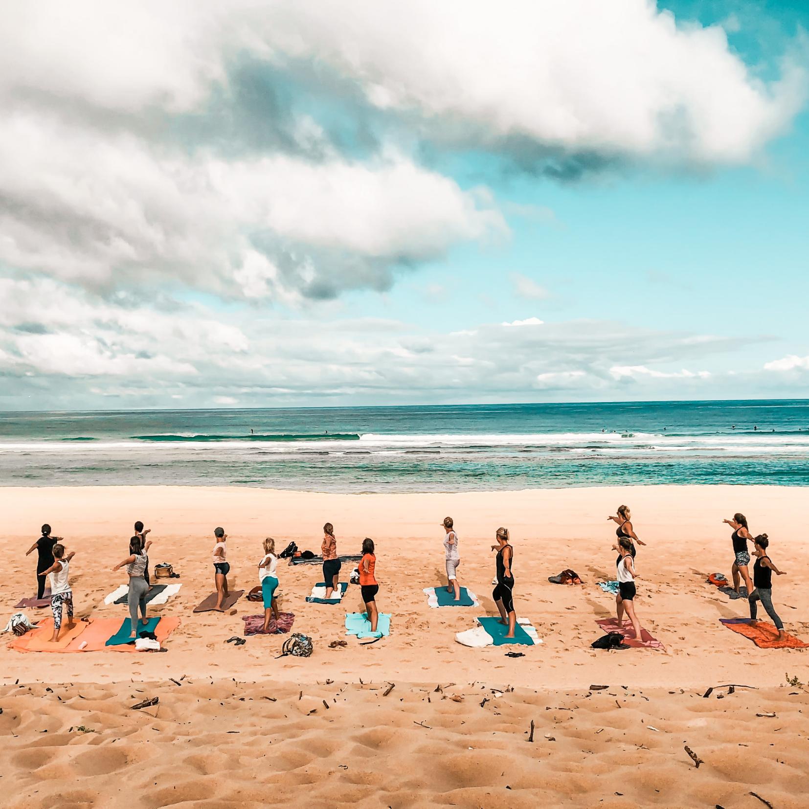 Beach Yoga Nature