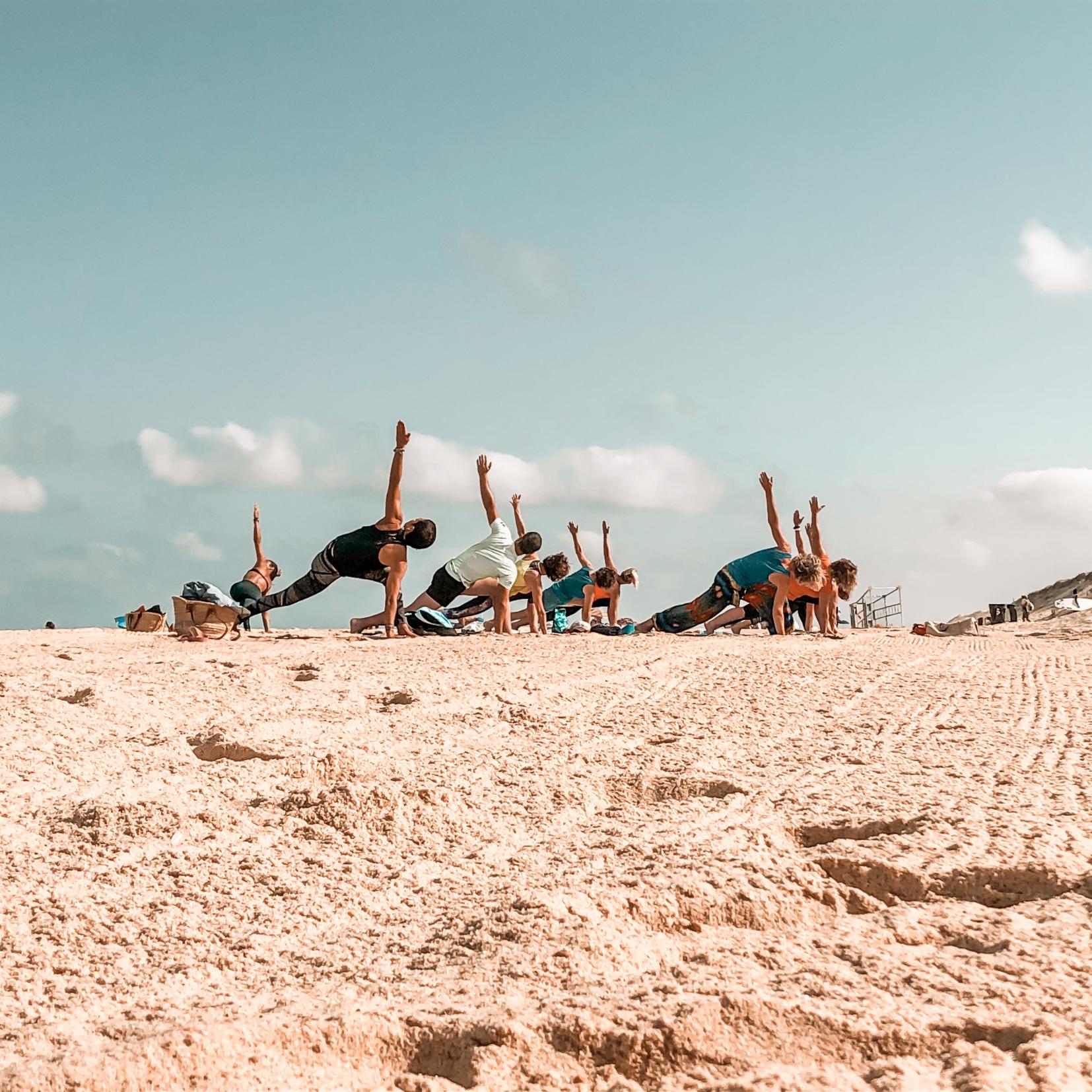 Beach Yoga Moliets