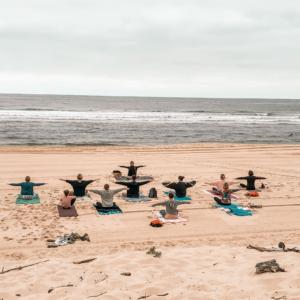 Beach Yoga Messanges